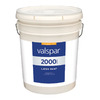 Valspar Contractor Finishes 2000 Pro 2000 5 Gallon Size Container Interior Semi-Gloss Tintable White Latex-Base Paint (Actual Net Contents: 600-fl oz)
