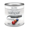 Valspar White Gloss Latex Interior/Exterior Paint (Actual Net Contents: 8-fl oz)