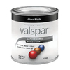 Valspar 8 fl oz Interior/Exterior Gloss Black Paint