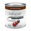 Valspar 8 fl oz Interior/Exterior Gloss Buckeye Brown Paint