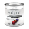 Valspar Satin White Satin Latex Interior/Exterior Paint (Actual Net Contents: 8-fl oz)