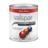 Valspar Quart Interior/Exterior Gloss Cherry Paint