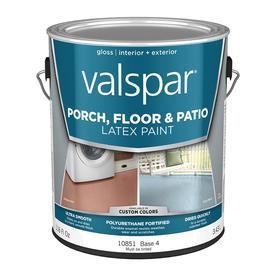 Valspar Base 4 Gloss Latex Interior/Exterior Paint (Actual Net Contents: 116-fl oz)