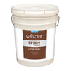 Valspar 5-Gallon Exterior Flat White Paint