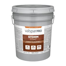 Valspar StormCoat Pastel Base Semi-Gloss Latex Exterior Paint (Actual Net Contents: 620-fl oz)
