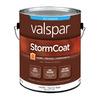 Valspar Storm Coat White Flat Latex Exterior Paint (Actual Net Contents: 116-fl oz)
