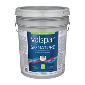 Valspar Signature 5-Gallon Interior Satin Tintable Paint and Primer in One