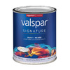 Valspar Signature Signature White Eggshell Latex Interior Paint and Primer In One (Actual Net Contents: 32-fl oz)