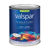 Valspar Signature Signature White Satin Latex Interior Paint and Primer In One (Actual Net Contents: 32-fl oz)