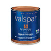 Valspar Signature Colors Quart Interior Semi-Gloss  Blue Base Paint and Primer in One