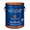 Valspar Signature Colors Gallon Interior Semi-Gloss  Blue Base Paint and Primer in One