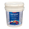 Valspar Signature Signature White Satin Latex Interior Paint and Primer In One (Actual Net Contents: 640-fl oz)