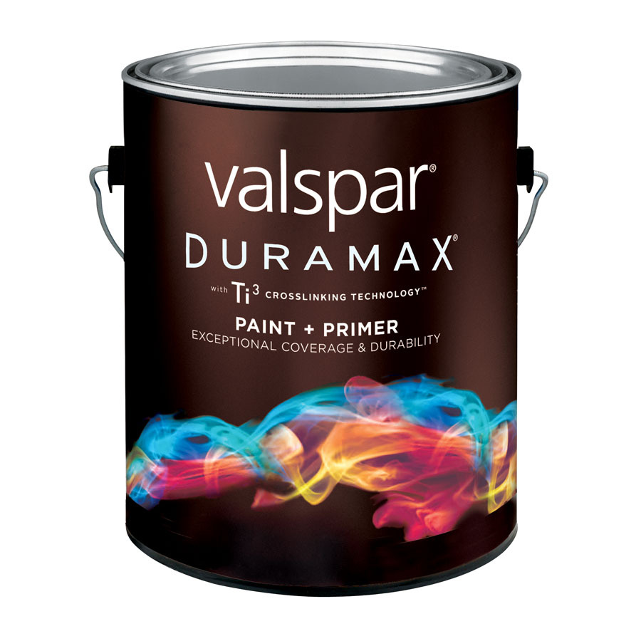 valspar duramax gallon size container exterior satin tintable red. Black Bedroom Furniture Sets. Home Design Ideas