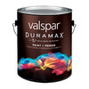 Valspar Duramax Gallon Exterior Semi-Gloss Red Paint and Primer in One