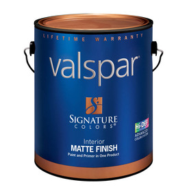 Valspar Signature Colors 1-Gallon Interior Matte Tintable Latex-Base Paint and Primer in One