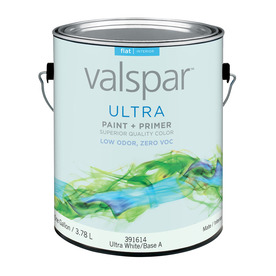 Valspar Ultra 128 fl oz Interior Flat Tintable Paint and Primer in One