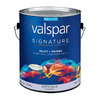 Valspar Signature Signature White Flat Latex Interior Paint and Primer in One (Actual Net Contents: 120-fl oz)
