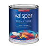 Valspar Signature Signature White Eggshell Latex Interior Paint and Primer In One (Actual Net Contents: 30-fl oz)