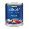 Valspar Signature Signature White Satin Latex Interior Paint and Primer In One (Actual Net Contents: 30-fl oz)