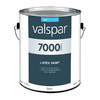 Valspar White Flat Latex Interior Paint (Actual Net Contents: 124-fl oz)