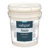 Valspar 5 Gallon Size Container Interior Flat Tintable White Latex-Base Paint (Actual Net Contents: 620-fl oz)