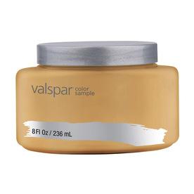 Valspar Cafe Miel Interior Satin Paint Sample (Actual Net Contents: 8-fl oz)