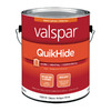 Valspar QuikHide Classic Antique White Semi-Gloss Latex Interior Paint (Actual Net Contents: 128-fl oz)