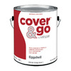 Valspar Cover and Go White Eggshell Latex Interior Paint (Actual Net Contents: 124-fl oz)
