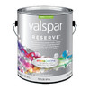 Valspar Reserve White Satin Latex Interior Paint and Primer in One (Actual Net Contents: 128-fl oz)