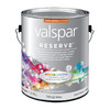 Valspar Reserve White Semi-Gloss Latex Interior Paint and Primer In One (Actual Net Contents: 128-fl oz)