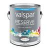 Valspar Reserve White Flat Latex Exterior Paint (Actual Net Contents: 126-fl oz)