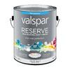 Valspar Reserve White Flat Latex Exterior Paint (Actual Net Contents: 120-fl oz)