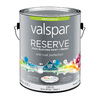 Valspar Reserve Ultra White/Base 1 Satin Latex Exterior Paint (Actual Net Contents: 126-fl oz)