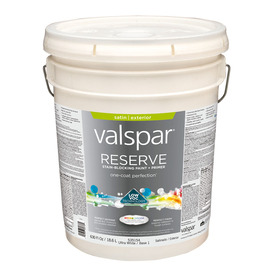 Shop Valspar Reserve Exterior Satin Tintable White Latex Base Paint And Primer In One Actual