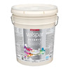 Valspar Reserve White Flat Latex Interior Paint and Primer In One (Actual Net Contents: 600-fl oz)