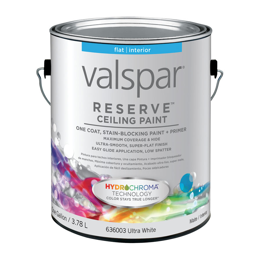 shop valspar reserve gallon size can interior flat. Black Bedroom Furniture Sets. Home Design Ideas