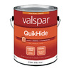 Valspar QuikHide White Latex Interior Paint (Actual Net Contents: 124-fl oz)