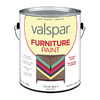 Valspar White Satin Latex Interior/Exterior Paint (Actual Net Contents: 116-fl oz)