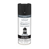 Valspar Project Perfect Black Fade Resistant Enamel Spray Paint (Actual Net Contents: 12 Oz.)