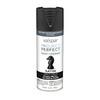 Valspar Project Perfect Black Spray Paint (Actual Net Contents: 12-oz)