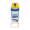 Valspar Outdoor Bright Yellow Spray Paint (Actual Net Contents: 12-oz)