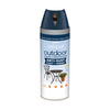 Valspar Outdoor Dark Knight Spray Paint (Actual Net Contents: 12-oz)