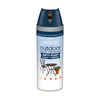 Valspar Outdoor Oceanic Fade Resistant Enamel Spray Paint (Actual Net Contents: 12 Oz.)