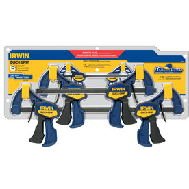 IRWIN 6-Piece Clamp Set