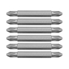 Kobalt 6-Pack 2-1/2-in Double-Ended Screwdriver Bits