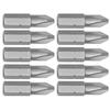 Kobalt 10-Pack 1-in Phillips Screwdriver Bits