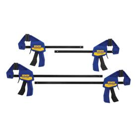 IRWIN 4-Piece Mini Clamp Set