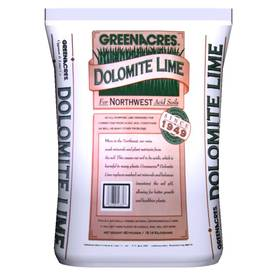 GREENACRES 2,000-sq ft Dolomite Lime Organic or Natural Lawn Fertilizer