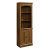Sauder Library With Doors (Planked Cherry finish)