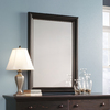 Sauder Antiqued Paint Rectangle Framed Wall Mirror